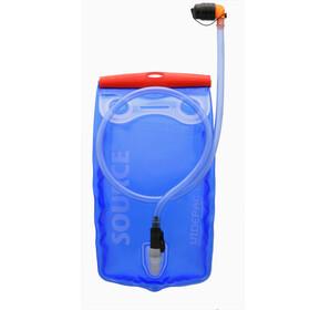 SOURCE Widepac Trinkblase 1,5 Liter transparent/blue